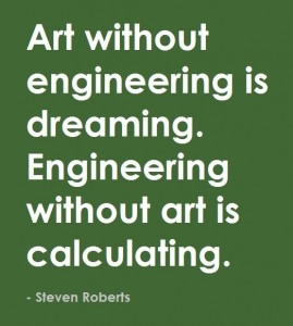 Art without engineering